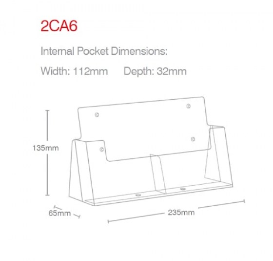 a6-portrait-2-pocket-counter-holder-2ca6-line-drawing