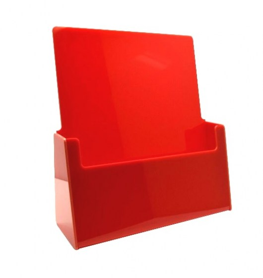 red-a4-portrait-counter-holder
