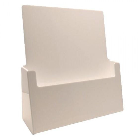 white-a4-portrait-counter-holder